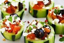 Snacks and Party Recipes / Easy snacks to prepare and share.