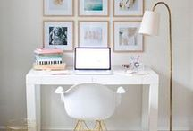 New Home Ideas / A mood board for when I finally have a home of my own I can decorate! Interior decoration inspiration.