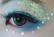 Glitter / Glitter inspo for glitter based makeup looks