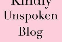Kindly Unspoken Blog
