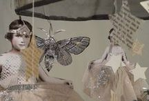 R O C K   |   P A P E R   |   S C I S S O R S / Nostalgia.  Altered art.  Collage.  Beauty. / by ~    j o a n n e    ~