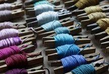 laines et fils / Fils, laines et couleurs