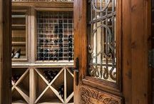 Wine Cellar Inspiration / A fine wine is a terrible thing to waste. Custom wine cellars that are temperature-controlled, computerized, organized and tastefully done and pleasing to the eye.  / by Suzanne Myers
