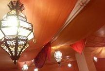 Décoration/Decoration - Mélanie Baladi / Décor de notre école. Ambiance orientale, marocaine. Decoration of our school. Oriental atmosphere, moroccan