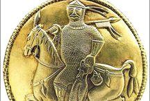 Central Europe around 10th / Moravia, Bohemia, Hungary in 10th century