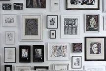 Decor - Interior design - Gallery wall