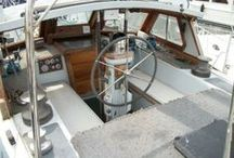Pilothouse / Restoration project 1978 Steel Bruce Roberts Mauritius 44 Pilothouse Start Date August 1, 2012