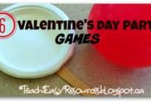 Valentine's Day / Party Ideas and Games for Pre-K to K