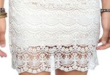 Skirt [crochet & lace]