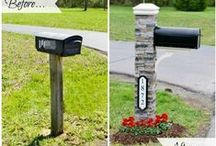 QUIKRETE Mailbox Makeover / This board is a compilation of entries from QUIKRETE's Save The Endangered Mailbox contest, as well as #DIY #HomeImprovement inspiration and associated weekend project ideas. The contents of this board all tie back to mailbox makeovers.    #CurbAppeal #Cement&Concrete #ConcreteDecor #WhatAmericaIsMadeOf