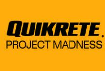 """QUIKRETE Project Madness / In March of 2014, #QUIKRETE took a page from the NCAA March Madness tournament and started a campaign called """"Project Madness,"""" to identify which home improvement projects our fans liked best!  Voting was held across Facebook, Pinterest and Twitter, and one project was determined to be the fan favorite, after receiving the most votes in the #ProjectMadness Championship--Making an Outdoor Kitchen.    Every fan who participated was entered into a random drawing, to win a #QUIKRETE prize pack!"""