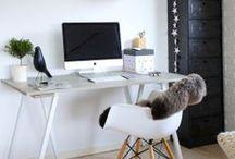 Decor - interior design - workspace