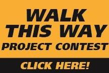 WALK THIS WAY Project Contest / QUIKRETE is hosting the WALK THIS WAY photo contest! Enter by posting your before & after QUIKRETE Concrete WalkMaker walkway or patio project photos to our designated Facebook contest tab by Sunday, November 2, 2014 at 11:59:00 P.M. ET, and you could win cash for the best QUIKRETE WalkMaker project. http://woobox.com/nvh8fp