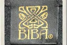 BIBA / Biba was a London fashion store of the 1960s and 1970s, started and primarily run by the Polish-born Barbara Hulanicki with help of her husband Stephen Fitz-Simon. Women's fashions only others will be deleted.