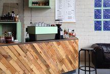 espressobar en restaurant board / espressobar en restaurant board