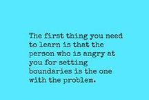 Advice - Boundaries