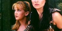 XENA: Lucy Lawless and Renee O'Connor / Enjoy the Xena board thanks.