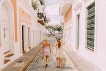 W a n d e r  G i r l s / Inspiring travel girls! Fashionable girls traveling the world