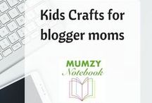 Kids Crafts for Blogger Moms / Handy craft ideas, including printables