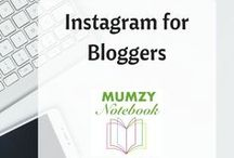 Instagram for Bloggers / Tips and ideas to increase your following on Instagram and Social Media