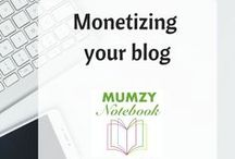 Monetizing your Blog / Ways to earn money on your blog