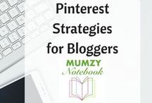 Pinterest Strategies &Tips for Bloggers / Tips and Strategies to use Pinterest for Blogging