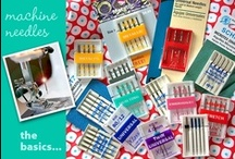 Needles (sewing) Tips
