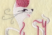Embroidery Cats/Dogs