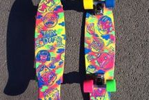 Deck Art Love / Longboard and skateboard deck art I like.