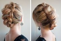 The Braid Brigade / Every braid from waterfalls to classic French. / by Kate Allen { hairwithkate.com }