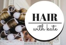 On The Blog / The latest blog posts up on hairwithkate.com / by Kate Allen { hairwithkate.com }