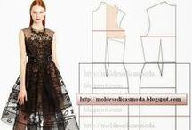 Molderia, costura, bordado / by Debora Acosta