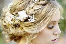 Peinados para Novias y Quinceañeras / Ideas para el peinado de esa noche tan importante! #hair #peinados #novia #boda #casamiento #quinceaños