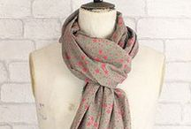 Star and Skull Print Scarves / Starry scarves have been incredibly popular over the last few seasons and their popularity doesn't seem to be waning - from the catwalk to the high street, they have become a wardrobe staple that will lift most outfits. Our star scarf range includes cotton crinkle star scarves from Stylesnob and wool/silk supersize star wraps and graphic stars on cotton, both from Becksondergaard.