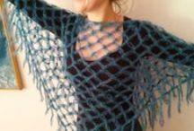 poncho, shawl & scarf