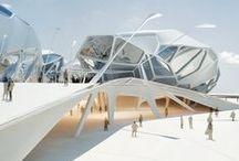 FUTURISTIC ARCHITECTURE / FUTURISTIC ARCHITECTURE / by Ju