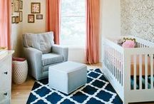 Nursery Style Inspiration / Decorating your nursery is an exciting part of planning for your little one's arrival. Choose a fun theme, or go for something classic that will grow with them