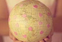 ➽ Around the world ➽
