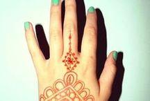Henna / Henna Tattoo Vorlagen und Motive