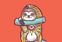 Cheerful / Design, illustration, colour, joy, animals, fun