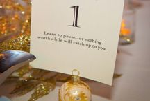 Ring in the New Year Wedding / New Years Eve Wedding ideas