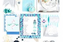 "Nautical Baby Shower / ""Counting Waves"" Your love for the sea, it's wild and free. A little sailor is going to share the adventure with you making it twice as fun! The one who will throw you off the ground with an avalanche of unconditional love the day your eyes meet. Just as bottomless as the ocean with your boundless love for the new arrival."