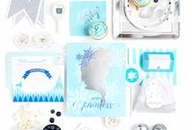Frozen Party Ideas / Frozen Birthday Party Ideas, Frozen Party Supplies, Frozen Party Decorations, Frozen Birthday Party Invitations, Frozen Party Food, Frozen Birthday Party Cake Ideas, Frozen Party Dessert Ideas, Frozen Party Favors, Princess Party Ideas, Disney Princess Party Ideas, Birthday Party Ideas for Girls