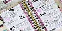 Happy planner ideas / Happy planner ideas, happy planner layouts, penmanship. #happyplaner #ideas #layouts