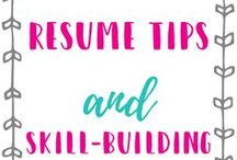 Resume Tips and Skill Building Strategies / If you need resume tips and skill building strategies, this board has some of the best resources for increasing your chances to land your dream job.