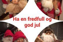 Jule huset på Hatlestad ,Bergen / Julenisser og juledekor i vårt hjem