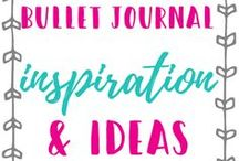 Bullet Journal Ideas / This board is full of Bullet journal ideas, design, images, themes, creation, organization, and inspiration.
