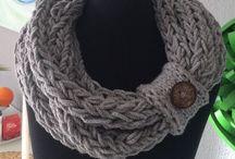 Stricken Schal