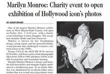 Marilyn Monroe: A Photo Exhibition 1926 - 1962