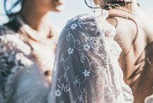 Ideias de Veludo Wedding Dresses / Handmade free spirit wedding dresses by Ideias de Veludo